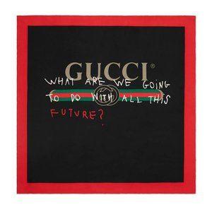 Gucci Future Foulard Scarf in Black